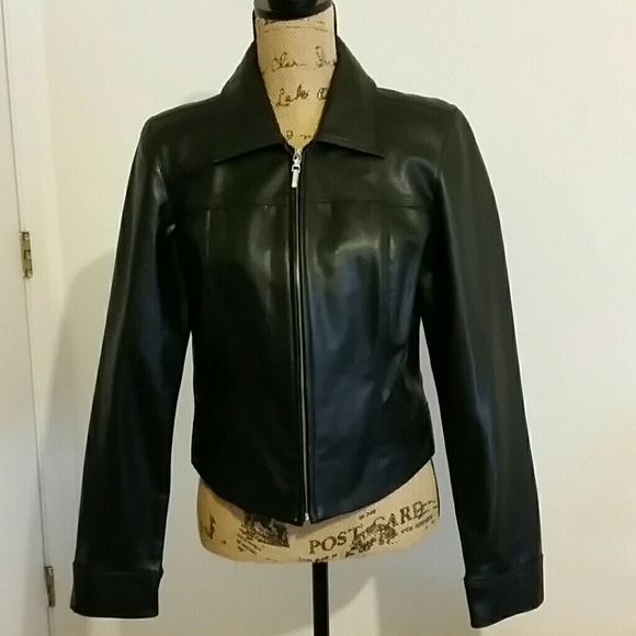 Rampage  Outerwear Jackets & Blazers - R Wear faux leather jacket